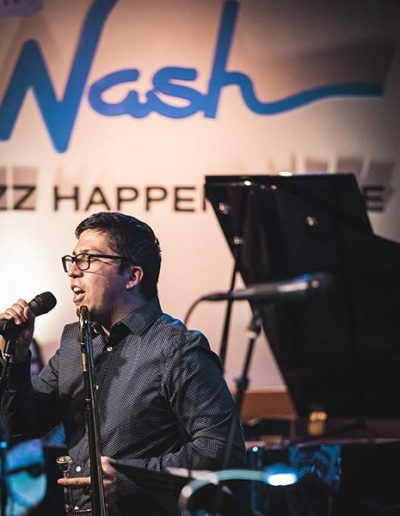 Gilbert singing - The Nash - 600sq