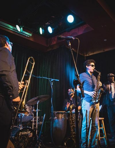 Horn Section - The Nash - 600sq